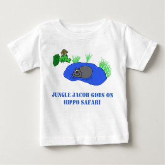 Safari do hipopótamo tshirts