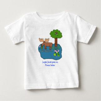 Safari dos alces t-shirts