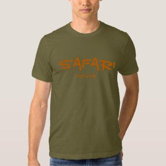 Safari Kenya - exército T-shirts