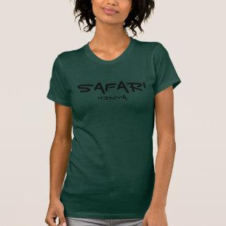 Safari Kenya - Forest Green Tshirt