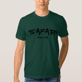 Safari Kenya - pinho Camisetas