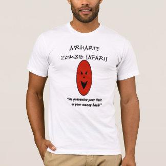 Safaris do zombi de Airharte - tomando o ao Camiseta