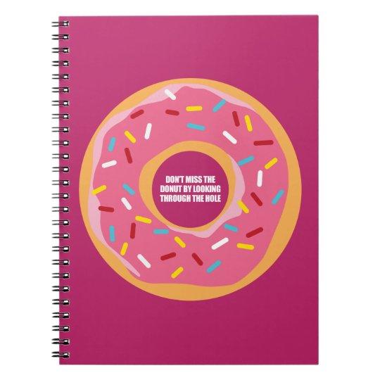 Sagacidade, sabedoria e sarcasmo caderno espiral