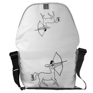 sagittarius do arqueiro do centauro bolsas mensageiro