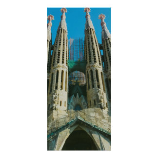 Sagrada Familia, Barcelona 10.16 X 22.86cm Panfleto