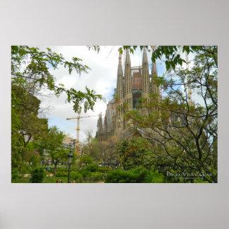 Sagrada Família Barcelona Posteres