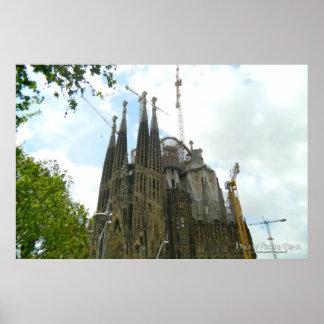 Sagrada Familia Barcelona Posteres