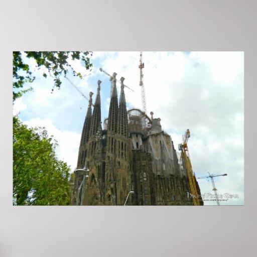 Sagrada Familia, Barcelona Posteres