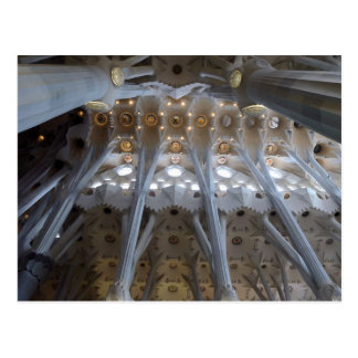 Sagrada Familia. Interiores. calendário 2015 Cartão Postal