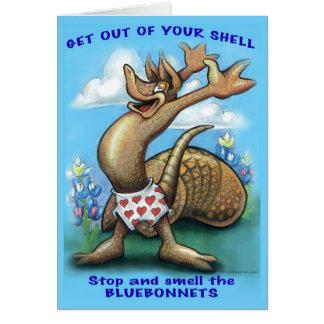 Saia de seus cartões de Shell