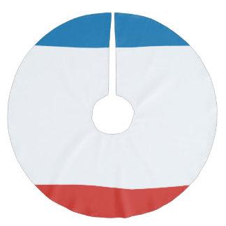 Saia Para Árvore De Natal De Poliéster Bandeira de Crimeia