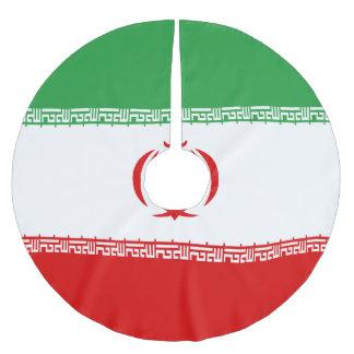 Saia Para Árvore De Natal De Poliéster Bandeira de Irã