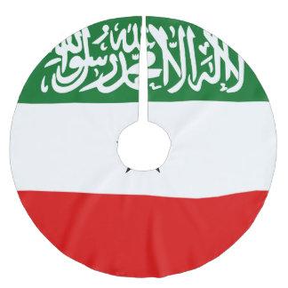 Saia Para Árvore De Natal De Poliéster Bandeira de Somaliland