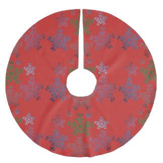 Saia Para Árvore De Natal De Poliéster Costume da saia da árvore de Natal
