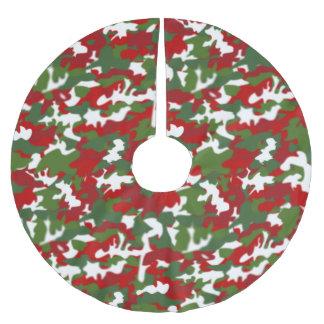 Saia Para Árvore De Natal De Poliéster Forças armadas da camuflagem da saia da árvore do