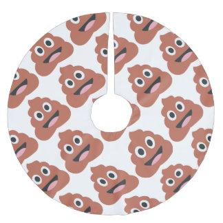 Saia Para Árvore De Natal De Poliéster Pooh emoji