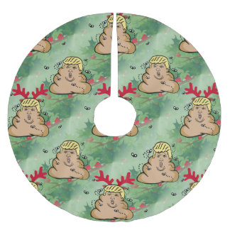 Saia Para Árvore De Natal De Poliéster saia da árvore de Donald Trump da rena do