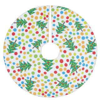 Saia Para Árvore De Natal De Poliéster saia da árvore de Natal do pop art