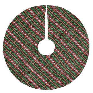 Saia Para Árvore De Natal De Poliéster Saia feia da árvore do tijolo da camisola do Natal
