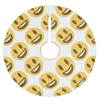 Saia Para Árvore De Natal De Poliéster Smiley Emoji Twitter