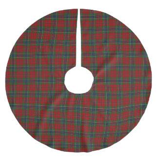 Saia Para Árvore De Natal De Poliéster Tartan MacLean moderno escocês de Maclean de Duart