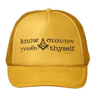 Saiba o chapéu do camionista de Thyself Bonés