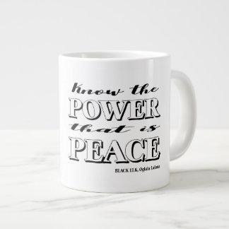 Saiba o poder que é caneca da paz