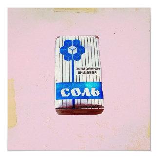 Sal de URSS Convite Quadrado 13.35 X 13.35cm