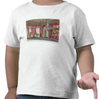 Sala de estar cor-de-rosa do cetim (segunda vista) tshirts