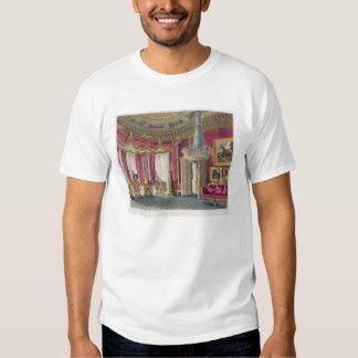 Sala de estar cor-de-rosa do cetim (segunda vista) tshirt