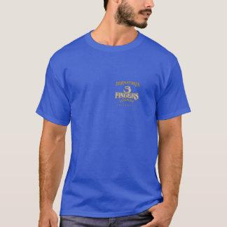 Sala de estar dos dedos de BERNATSKI 3 Camiseta