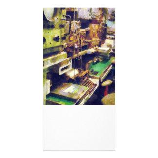 Sala de rádio cartoes com fotos personalizados