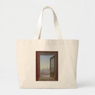 Sala do balcão com uma vista da baía de Nápoles Bolsa Para Compra
