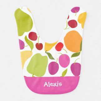 Salada de fruta babadores