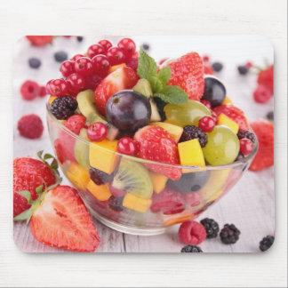 Salada de fruta fresca mouse pad