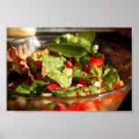 Salada do jardim impressão
