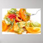 Salada do tomate poster
