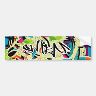 Salada dos grafites adesivo para carro