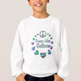 Salão de baile do amor da paz agasalho