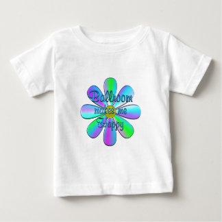 Salão de baile feliz camiseta para bebê