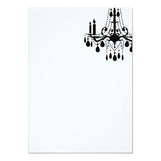 Salão de baile grande branco vazio liso convite