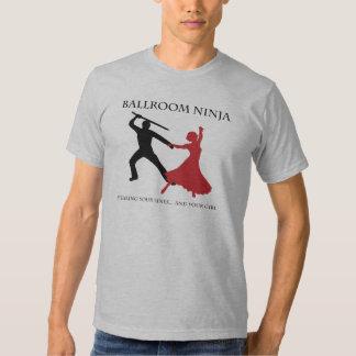 Salão de baile Ninja T-shirt