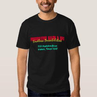 Salão de beleza das possibilidades & T dos termas Tshirt