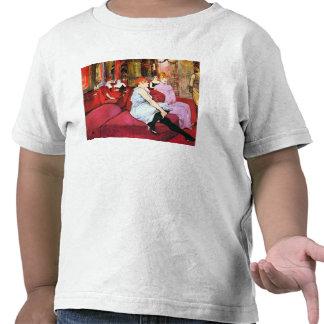 Salão de beleza na rua de Moulins por Toulouse-Lau T-shirt