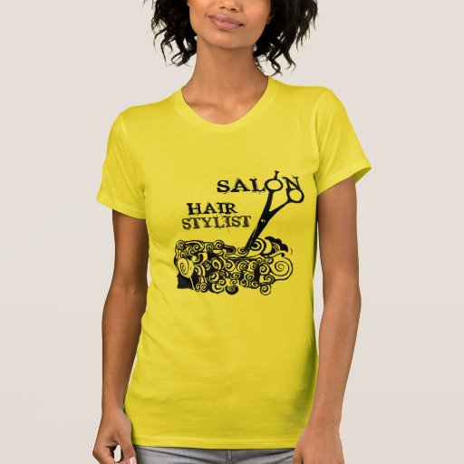 Salão de beleza camisetas