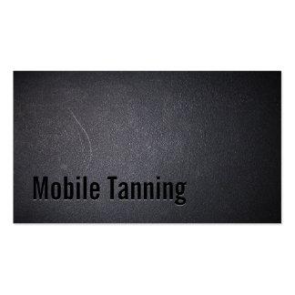 Salão de beleza Tanning móvel escuro profissional Cartão De Visita