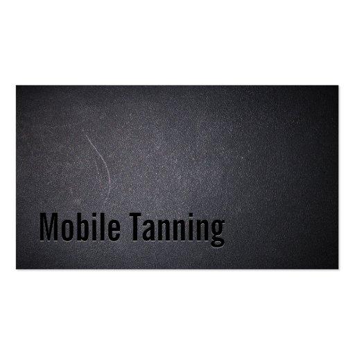 Salão de beleza Tanning móvel escuro profissional Modelos Cartões De Visitas