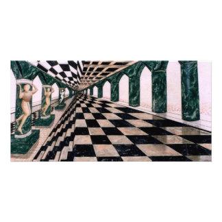 Salão de Diana - cartões de fotos da arte do crick Cartão Com Fotos