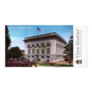 Salão de justiça cartoes com fotos
