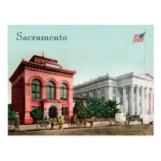 Salão do cartão de Califórnia do vintage dos